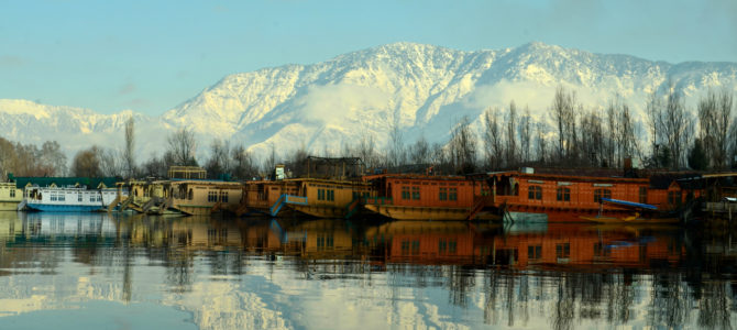 Dal Lake- a world within.