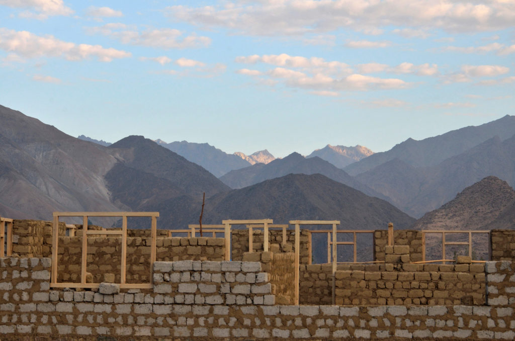 An incomplete house at Kargil.