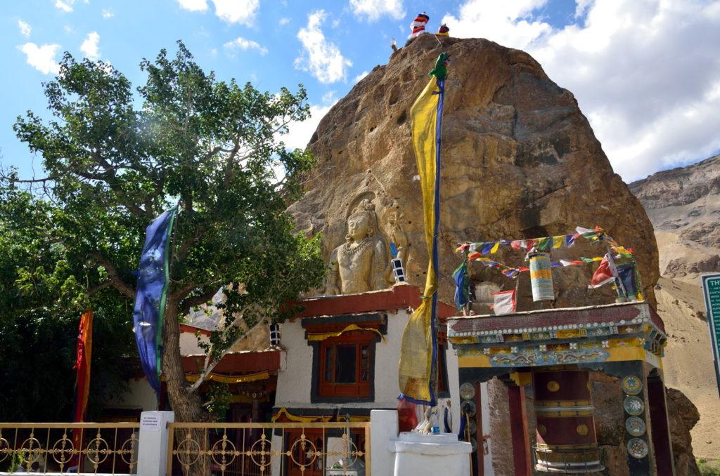 The Mulbekh Monastery, Kargil-Leh Road.