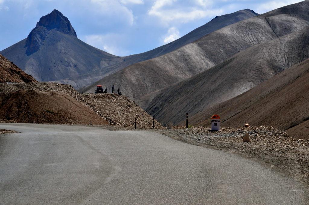 Totally barren but beautiful Namik La or Pass , Kargil.