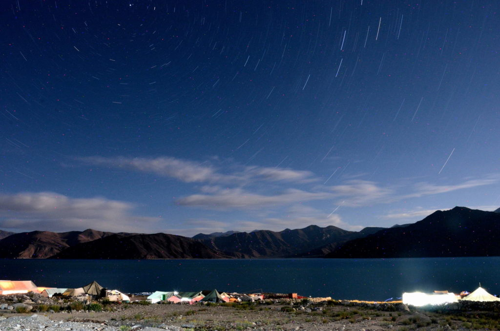 Star trek at Pangong lake.
