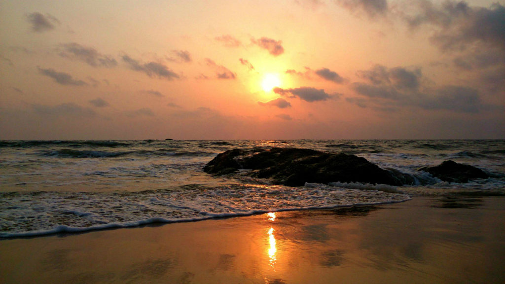 Surathkal Beach, Mangalore.