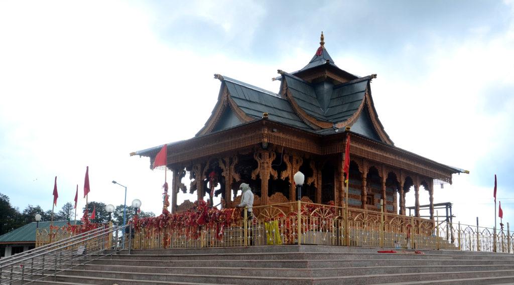 The Hatu Mata temple, Narkanda, Himachal Pradesh
