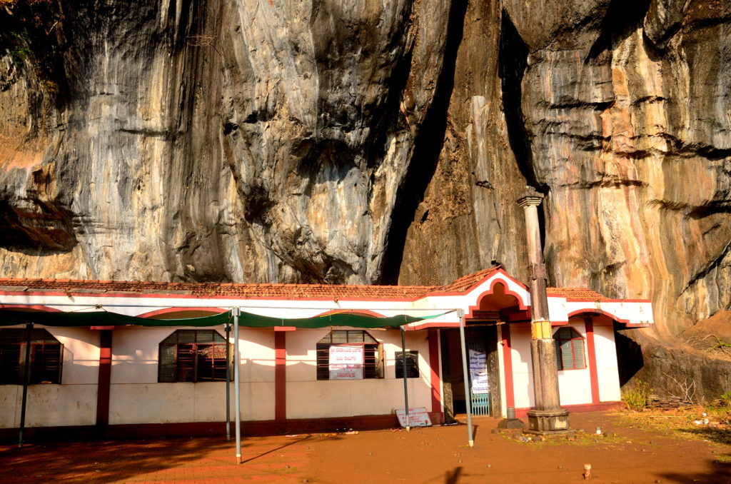 The Lord Shiva Cave Temple, at Yana