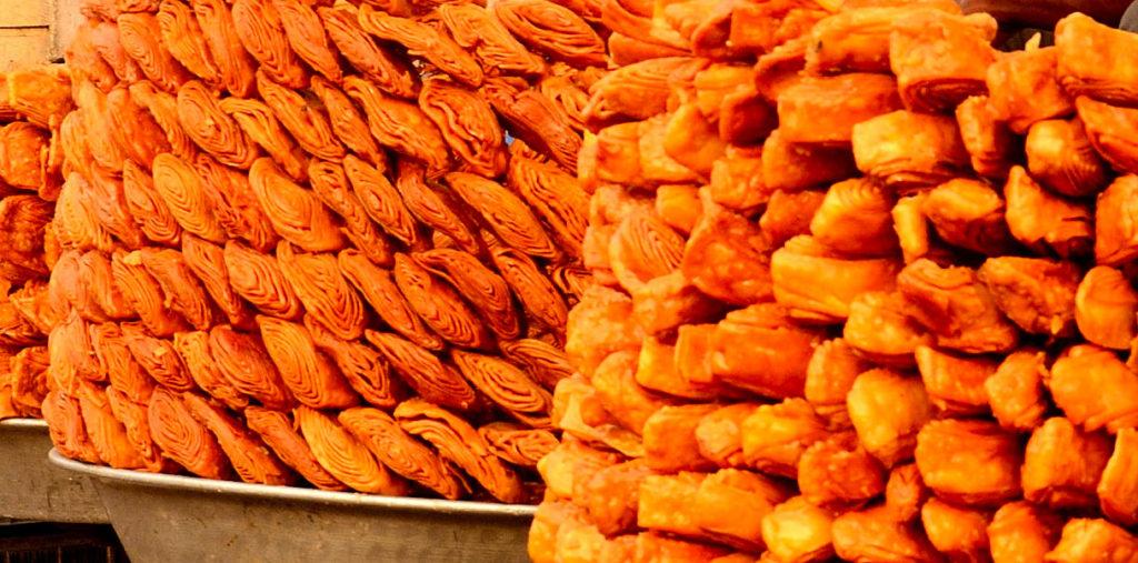 Khaja- the most famous sweet of Puri.