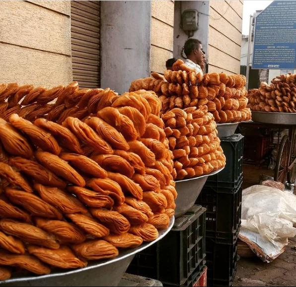 Khaj selling shops in Puri, Odisha